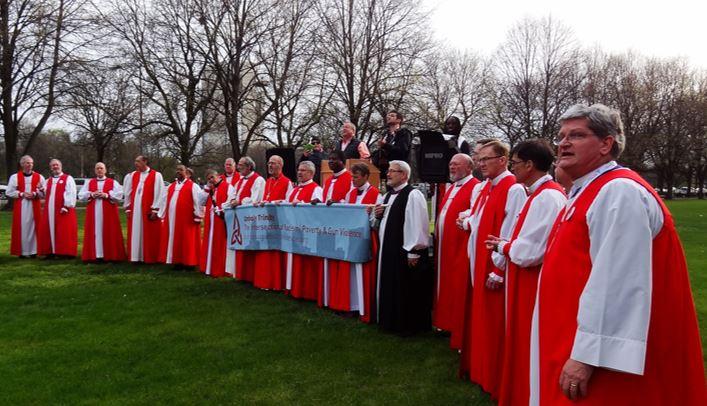 Episcopal Bishops respond to mass murder in Las Vegas