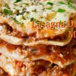 Annual Lasagna Dinner & Raffle